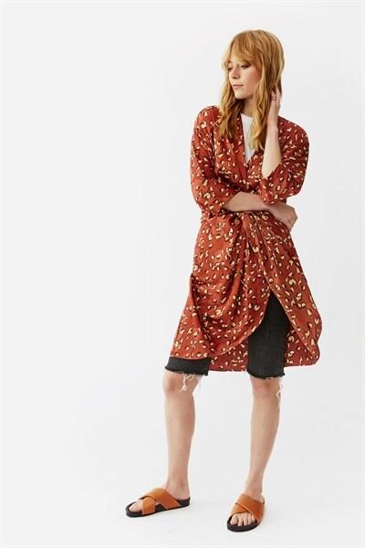 4f9706dccd36 Georgina Dress - Mini Terracotta Leo. 1.299 SEK