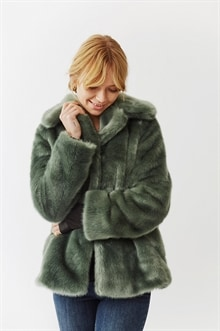 Exclusive item: Grace Faux Fur Jacket