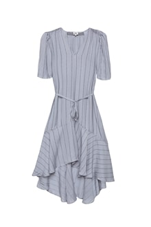 6975_Alexa Dress_Dusty Blue Logo Stripe