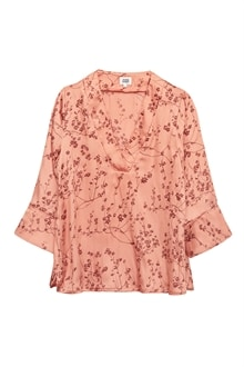 6983_Nell Blouse_Peach Flower