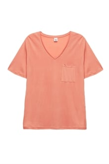 7000_Iris Pocket Tee_Peach