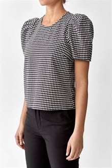 701452_Kayla Blouse Graphic Dogstooth_2_cropped_web_sRGB