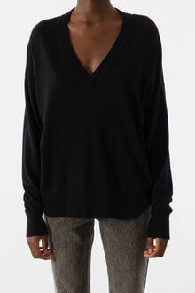 728801_Lara-V-neck-Sweater-Black-XS_1