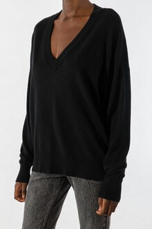 728801_Lara-V-neck-Sweater-Black-XS_2